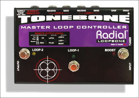 Radial Engineering Tonebone Loopbone Effects Loop Controller