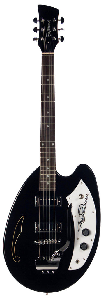 Eastwood May Queen Guitar - Black