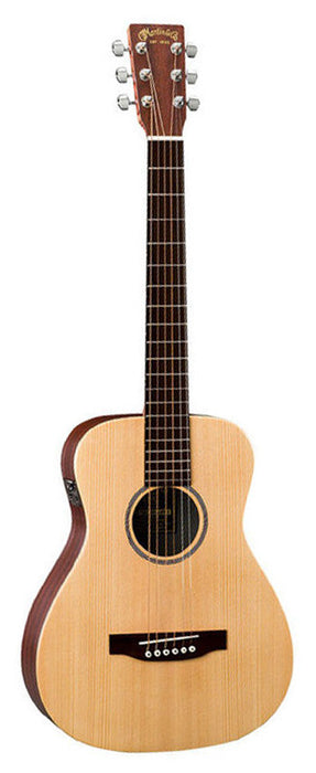 Martin LX1E Solid Spruce Top Little Acoustic Electric Guitar