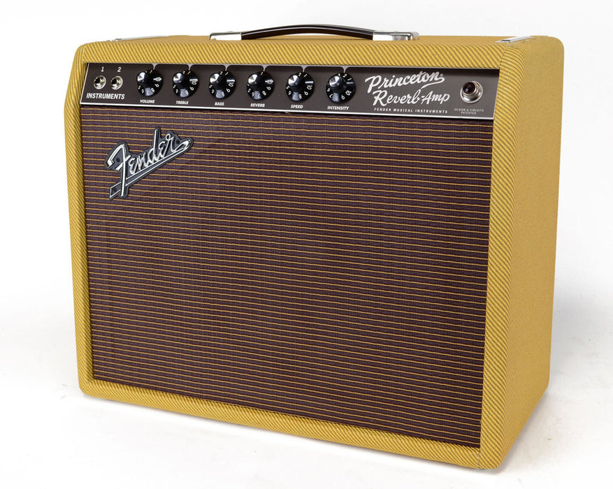 Fender '65 Princeton Reverb Limited Edition Tweed Guitar Combo Amp