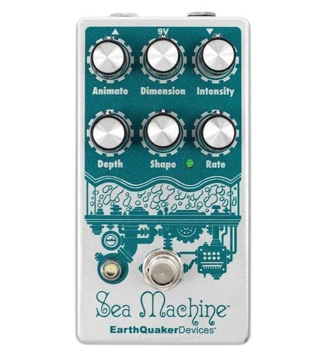 Earthquaker Devices Sea Machine V3 Mega Chorus Pedal Version 3