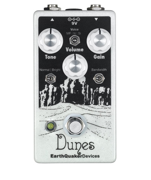 Earthquaker Devices Dunes V2 Overdrive Pedal Version 2