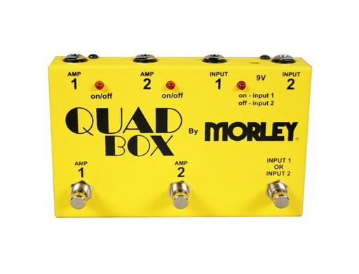 Morley Quad Box Guitar and Amp Switcher Pedal