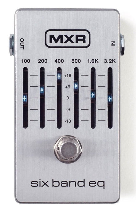 MXR M109S Six Band EQ Guitar Pedal