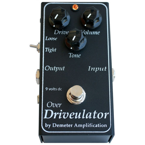 Demeter DRV-1 Over Driveulator Overdrive Guitar Pedal