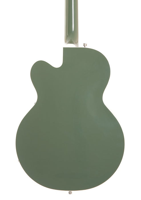 Pre Owned Gretsch G6118T Anniversary Rosewood Fingerboard Two-Tone Smoke Green with Bigsby Electric Guitar With OHSC
