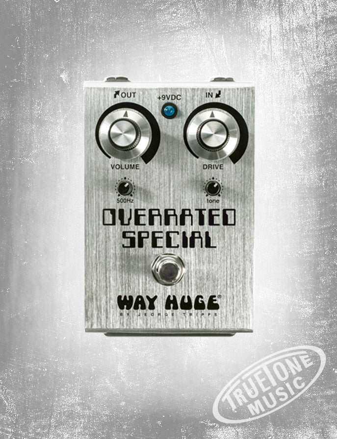 Way Huge WHE208 Overrated Special Joe Bonamassa Overdrive Pedal