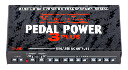 Voodoo Lab PP3P Pedal Power 3 PLUS High Current 12-Output Isolated Power Supply