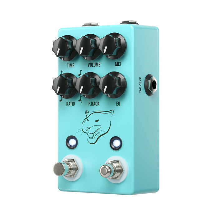 JHS Panther Cub V2 Analog Delay w/ Tap Tempo Guitar Effect Pedal