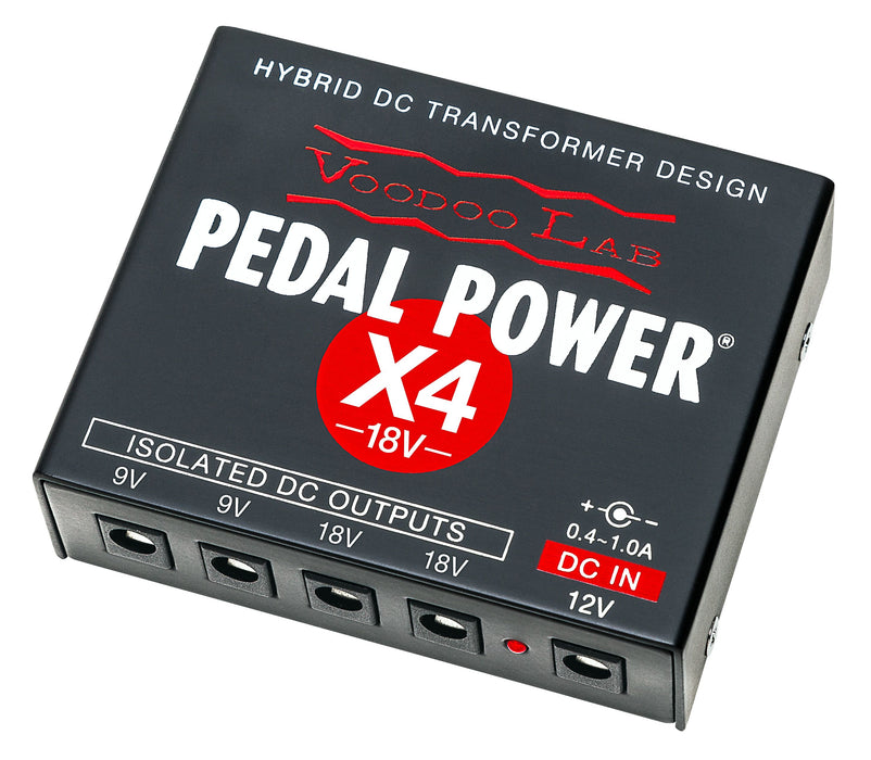 Voodoo Lab PPX4-18V Pedal Power X4-18V Isolated Power Supply