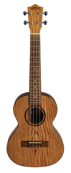 Lanikai OA-T Oak Tenor Ukulele Natural with Gig Bag