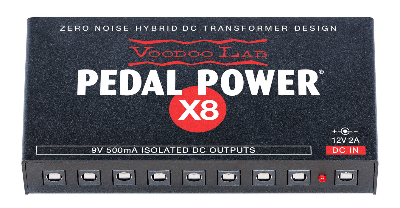 Voodoo Lab DBS-EX8 Dingbat Small-EX Pedalboard Power Package with Pedal Power X8