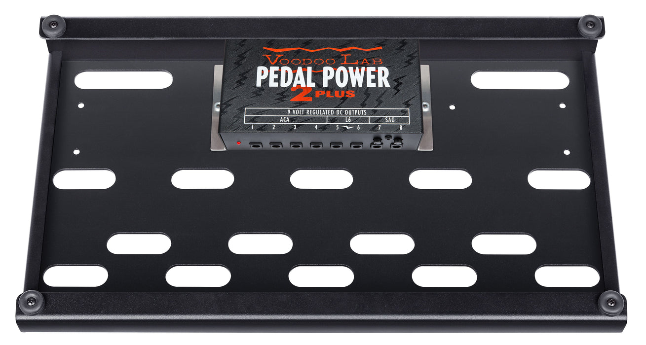 Voodoo Lab DBS-EXP Dingbat Small-EX Pedalboard Power Package with Pedal Power 2 PLUS