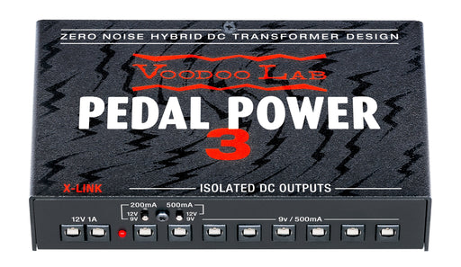Voodoo Lab PP3 Pedal Power 3 High Current 8-Output Isolated Power Supply