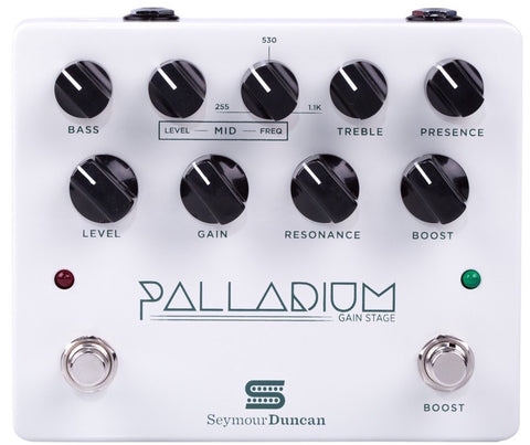 Seymour Duncan Palladium Gain Stage Distortion Pedal - White