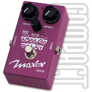 Maxon AD-10 Analog Delay Guitar Effect Pedal