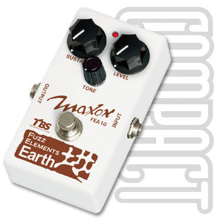 Maxon FEA-10 Fuzz Elements Earth Guitar Effect Pedal