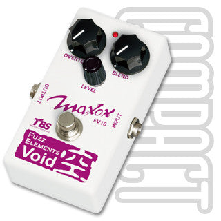 Maxon FV10 Fuzz Elements Void Guitar Effect Pedal