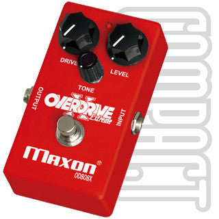 Maxon OD808X Overdrive Guitar Effect Pedal