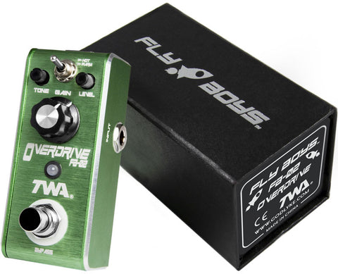 TWA Fly Boys Series FB-02 Overdrive Guitar Effect Pedal