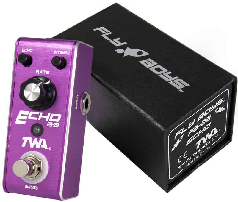 TWA Fly Boys Series FB-03 Echo Guitar Effect Pedal