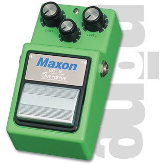 Maxon OD9 Overdrive Guitar Effect Pedal