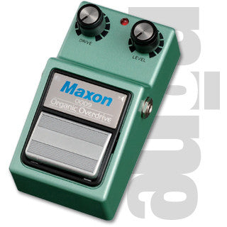 Maxon OOD9 Organic Overdrive Guitar Effect Pedal