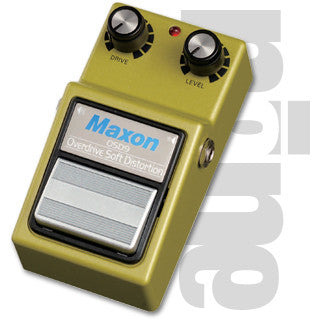 Maxon OSD-9 Overdrive/Soft Distortion Guitar Effect Pedal
