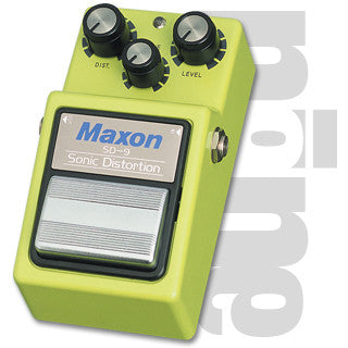 Maxon SD-9 Sonic Distortion Guitar Effect Pedal