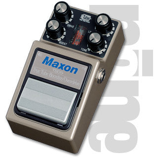 Maxon TBO-9 True Tube Booster/Overdrive Guitar Effect Pedal