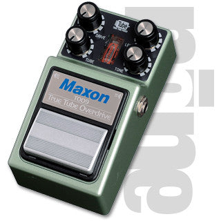 Maxon TOD-9 True Tube Overdrive Guitar Effect Pedal