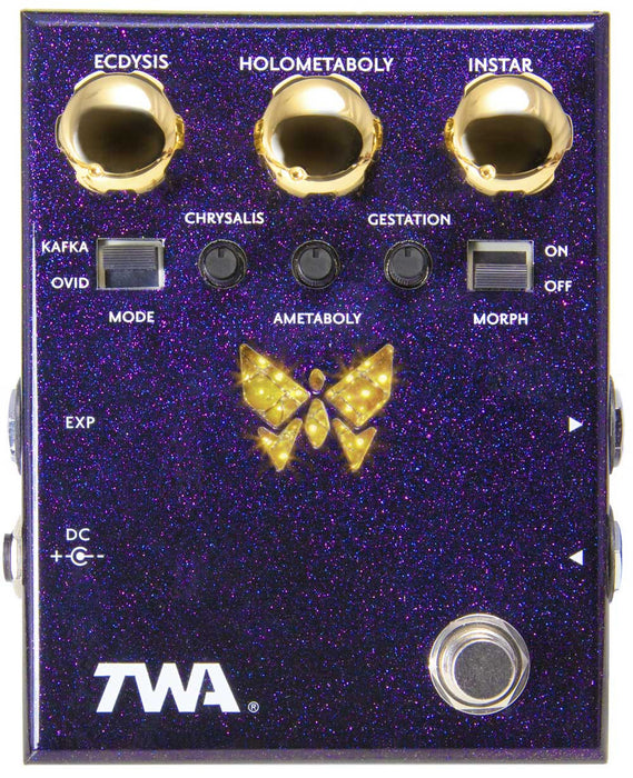 TWA Dynamorph DM-02 Distortion Fuzz ilter Synth Guitar Effect Pedal