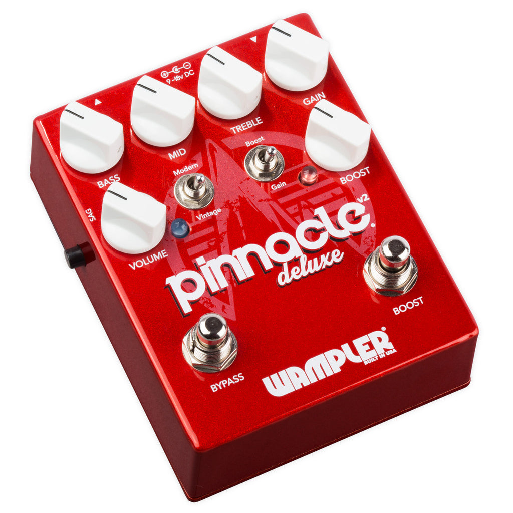 Wampler Pinnacle Deluxe Distorion Pedal