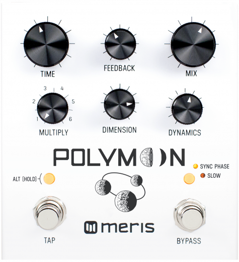 Meris Polymoon Super Modulated Delay Guitar Effect Pedal