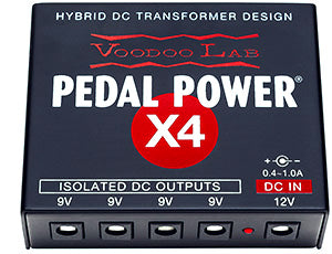 Voodoo Lab PPX4 Pedal Power X4 Power Supply