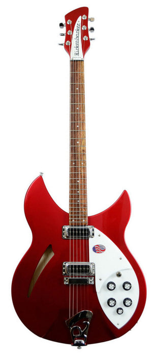 Rickenbacker 330 Six String Ruby Red Semi Hollow Guitar With OHSC