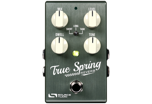 Source Audio True Spring Reverb with Tap Switch Guitar Effect Pedal