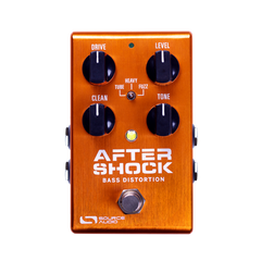 Source Audio Aftershock Bass Distortion Bass Guitar Effect Pedal