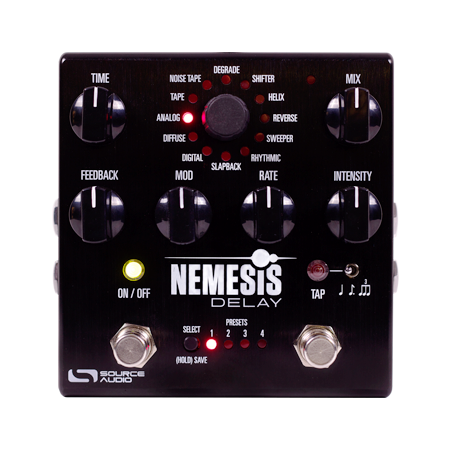 Source Audio Nemesis Delay Guitar Effect Pedal