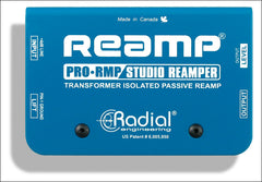 Radial Engineering ProRMP Reamp Guitar Effects Studio Reamper