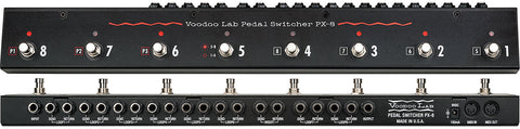 Voodoo Lab Pedal PX-8 Footpedal Audio Loop Switcher with 8 Loops