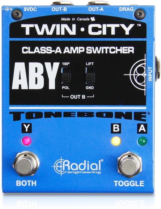 Radial Engineering Twin City ABY Switcher Pedal