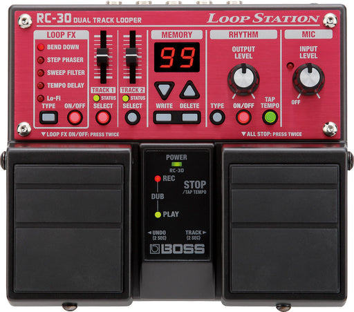 Boss RC-30 Loop Station Looper Guitar Effect Pedal