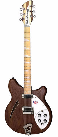 Rickenbacker 360W Walnut Semi Hollow Guitar With OHSC