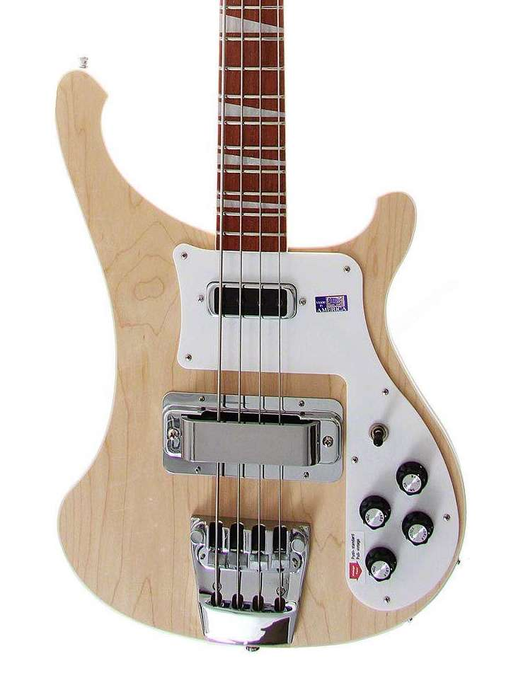 Rickenbacker 4003 Bass Guitar Mapleglo With OHSC