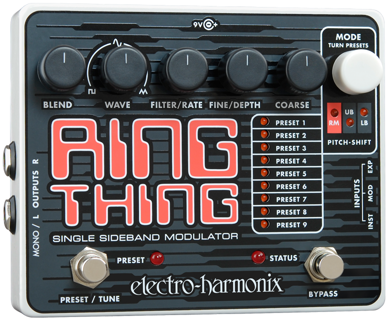 Electro-Harmonix Ring Thing Ring Modulation Guitar Pedal
