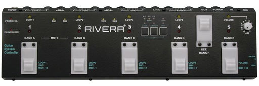 Rivera RM-1 Routemeister Effects Switching System NOS