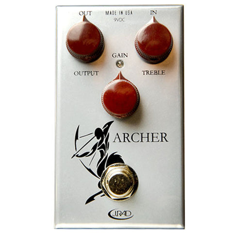 J Rockett Audio Designs Tour Series Archer Overdrive/Boost Guitar Effect Pedal