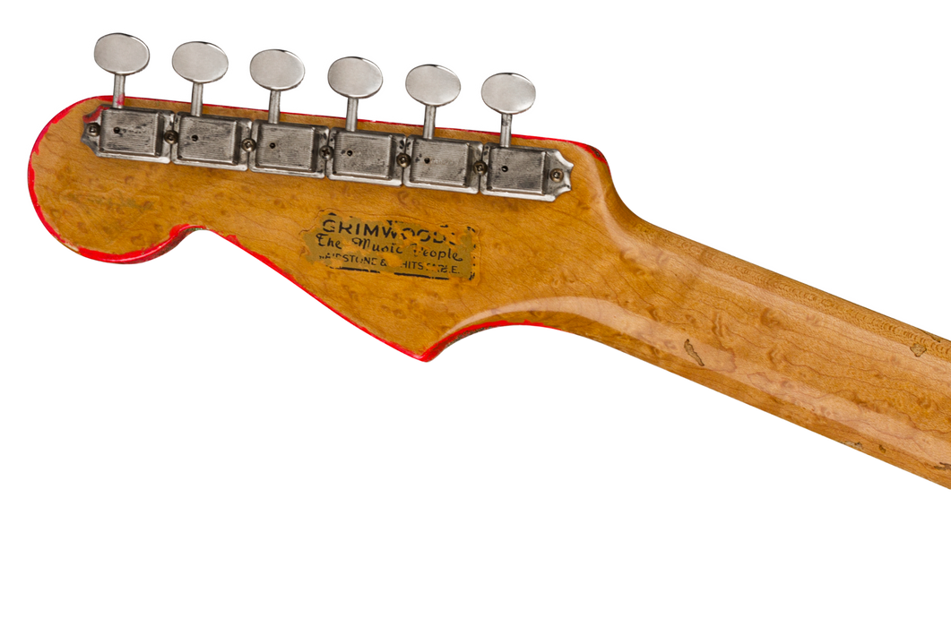"Fender Custom Shop Limited Edition George Harrison Master Built Paul Waller ""Rocky"" Stratocaster 1 of 100 PRE ORDER"