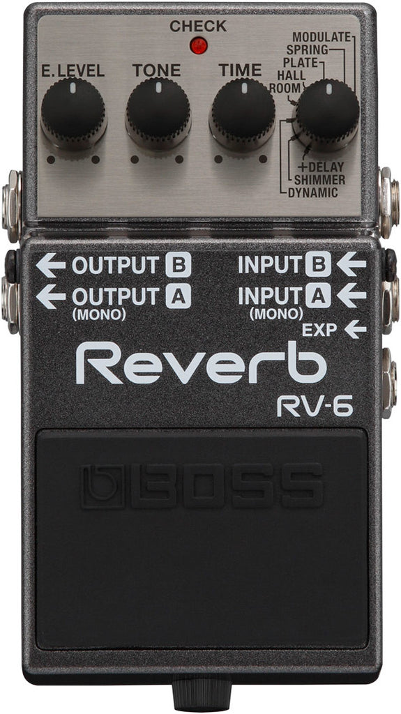 Boss RV-6 Reverb Guitar Effect Pedal